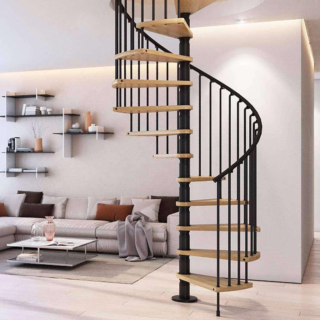 Cầu thang xương sắt cực đẹp