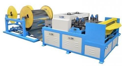 Máy làm ống gió vuông tự động - Line III