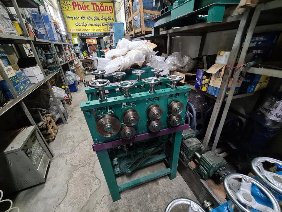 Máy uốn ống 7 trục - Máy cuốn ống