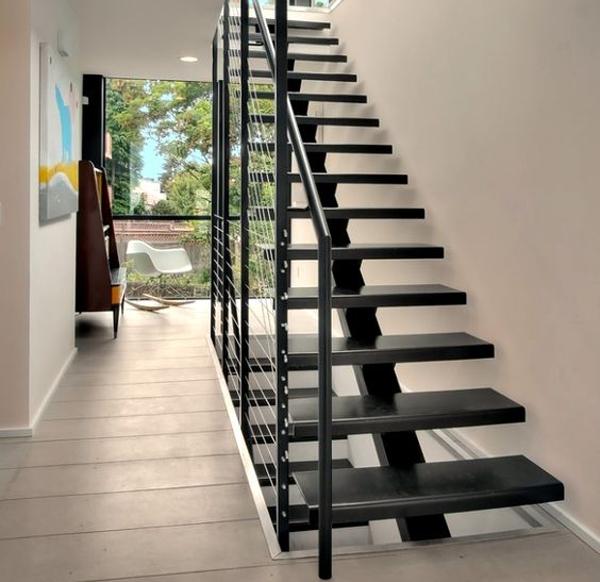 Cầu thang hoàn toàn bằng thép